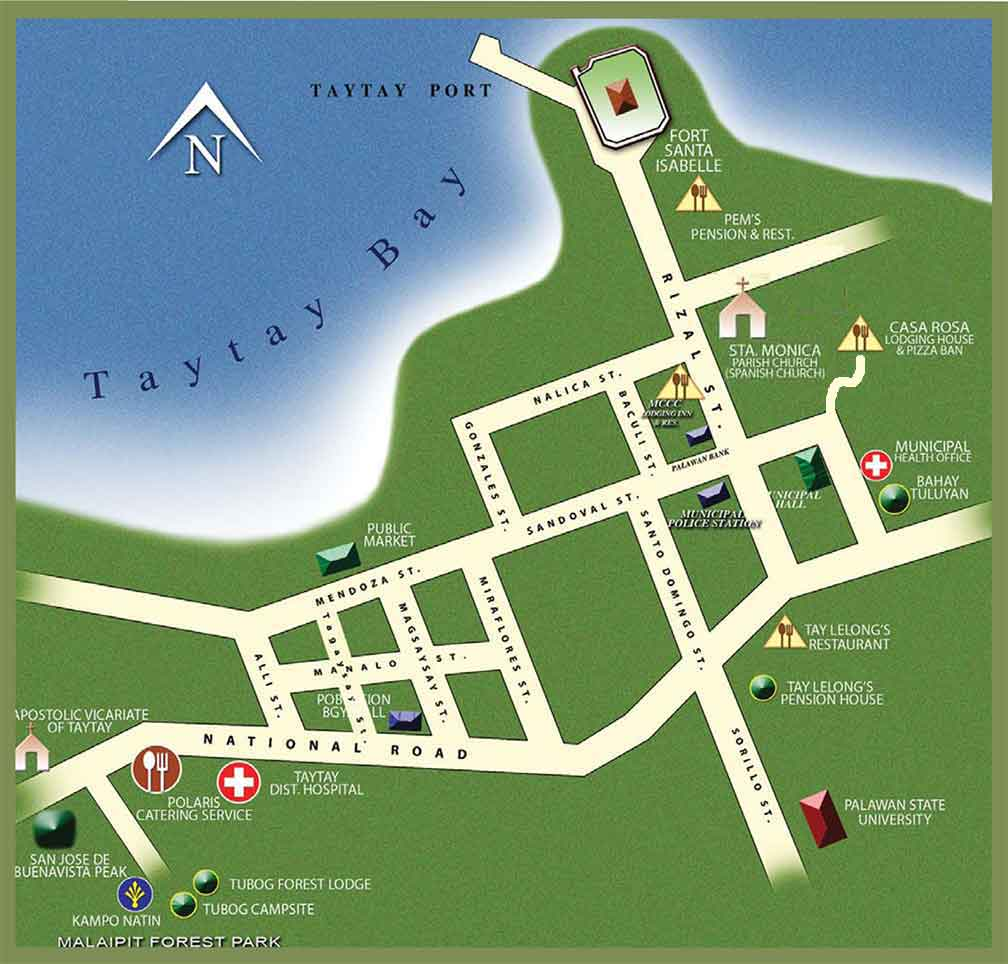 A Travel Guide for Taytay Palawan – Travel Map Generator