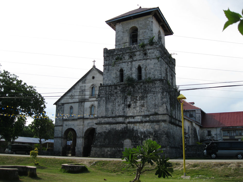 Baclayon Philippines  City new picture : Baclayon Church oldest Roman Catholic Church in the Philippines